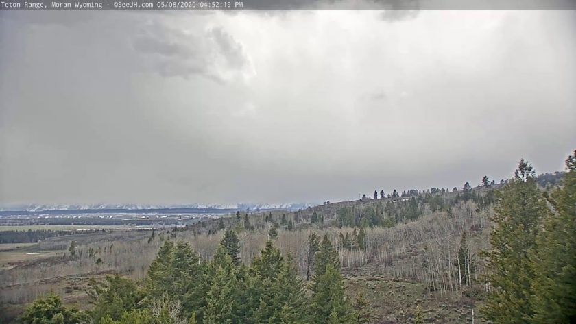 Live View Buffalo Valley in Grand Teton National Park