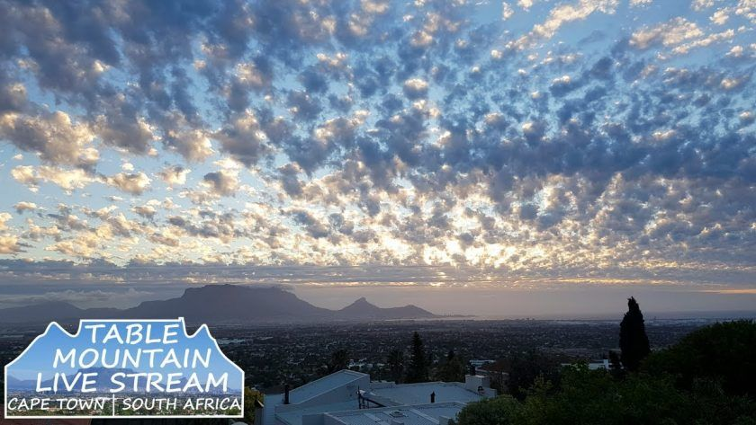 Live Stream of Table Mountain in Cape Town, South Africa