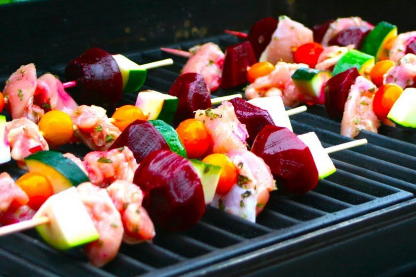 Delicious Summer Shish Kabobs