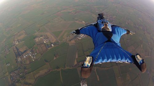 Wingsuit Flight Adrenaline Rush