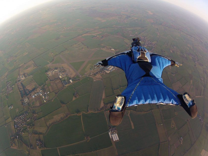 Wingsuit Flight Adrenaline Rush