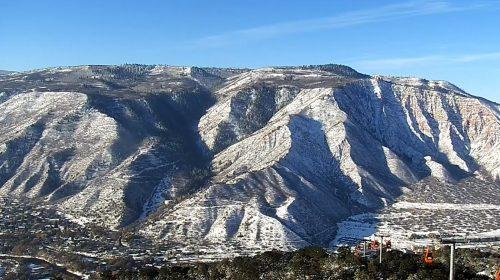 Amazing View of Colorado's Glenwood Caverns