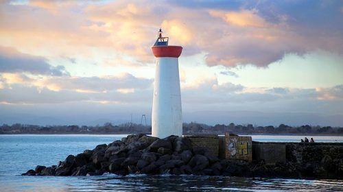 Port Bourgenay Lighthouse
