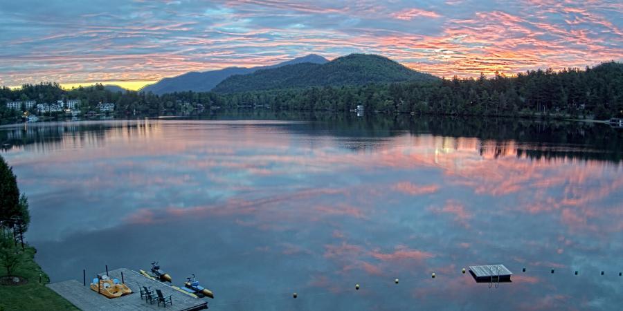 'See the Sunset': Mirror Lake