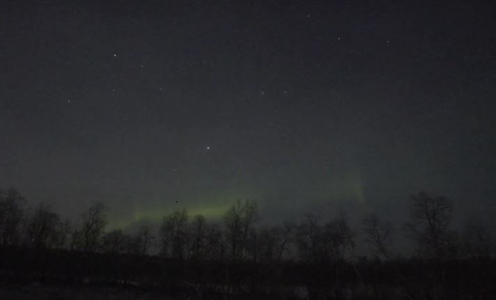 Aurora Borealis / Northern Lights Live From Finland