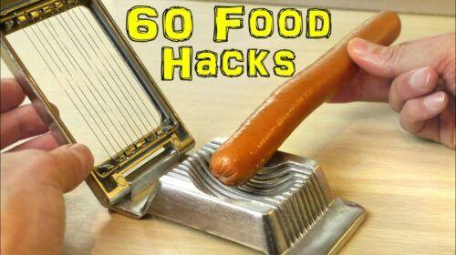 Ultimate Food Hacks: 60 Great Ideas