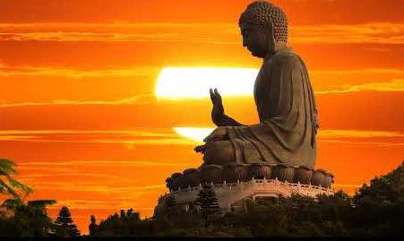 Buddha SunsetMeditation