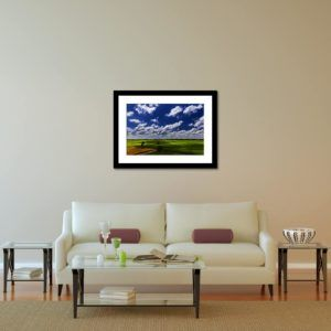 Cloudy Farmland - Limited Edition Artwork by Minhajul Haque. A Photography Print Made with Love and Passion to Make You Feel Special and Serene. Here in This Image, It Is an Interior Scene with the Wall Art Print. Buy Limited Edition Pigment Prints of Artistic Nature and Landscape Photos for Your Home and Office Interiors. Bedroom Wall Art, Dining Room Wall Art, Living Room Wall Art, Kitchen Wall Art, Bathroom Wall Art, Kid's Room Wall Art, Office Wall Art, and Sitting Room Wall Art for Sale Online in India