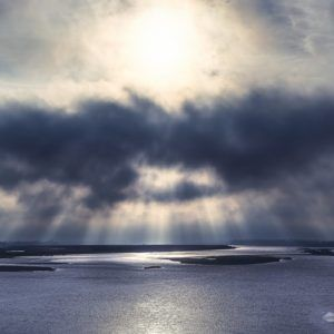 River Rays - Limited Edition Prints by Fine Art Nature and Landscape Photographer Minhajul Haque from India