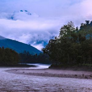 Misty Subansiri - Fine Art Photograph of a Valley in Limited Edition Pigment Prints on Canvas and Matte Paper by Minhajul Haque