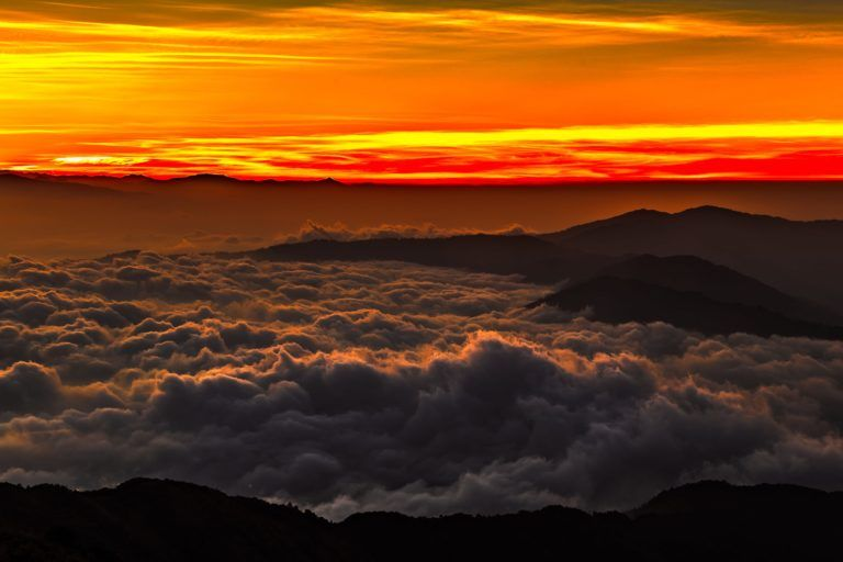 The Day to Dawn – Limited Edition Landscape Photography Prints of The Himalayas During Sunrise (Canvas/Matte Paper)