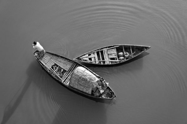 Twin - Limited Edition Black and White Photography Artwork by Sahidul Haque