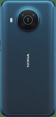 Nokia X20 Frontalansicht nordic blue big