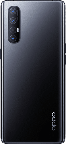 OPPO Find X2 Neo Frontalansicht moonlight black big