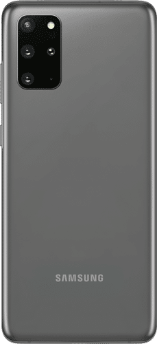 Samsung Galaxy S20+ Frontalansicht cosmic gray big