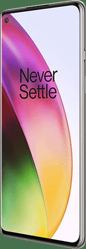 OnePlus 8 Frontalansicht interstellar glow big