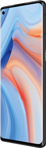 OPPO Reno4 Pro 5G Frontalansicht space black big