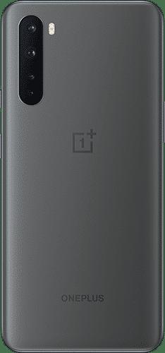 OnePlus Nord Frontalansicht grey ash big