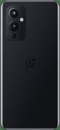 OnePlus 9 Frontalansicht astral black big