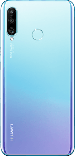 HUAWEI P30 Lite New Edition Frontalansicht breathing crystal big