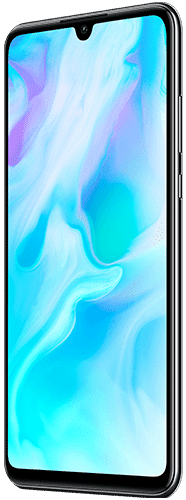 HUAWEI P30 lite Frontalansicht midnight black big