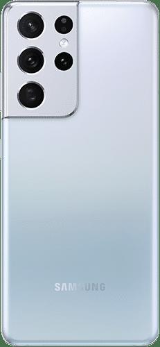 Samsung Galaxy S21 Ultra 5G Frontalansicht phantom silver big