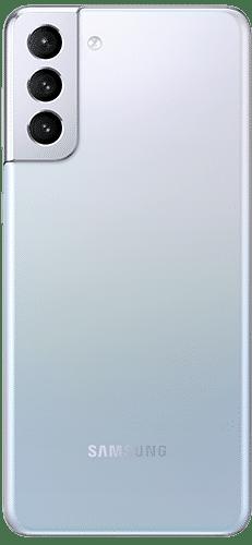 Samsung Galaxy S21+ 5G Frontalansicht phantom silver big