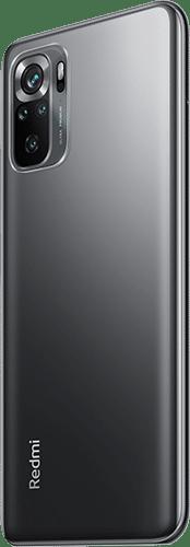 Xiaomi Redmi Note 10S Frontalansicht onyx gray big