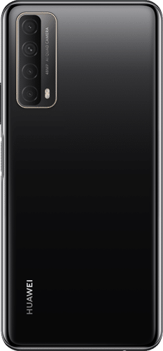 HUAWEI P Smart 2021 Frontalansicht midnight black big