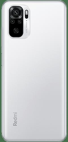 Xiaomi Redmi Note 10 Frontalansicht pebble white big