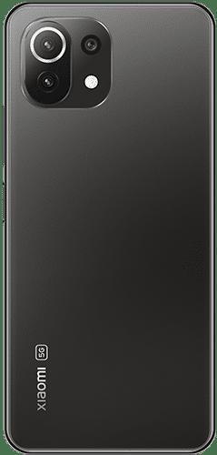 Xiaomi Mi 11 Lite 5G Frontalansicht truffle black big
