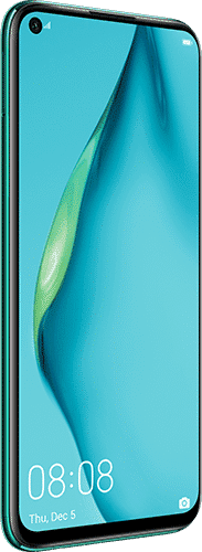 HUAWEI P40 lite Frontalansicht crush green big