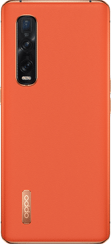 OPPO Find X2 Pro Frontalansicht orange big