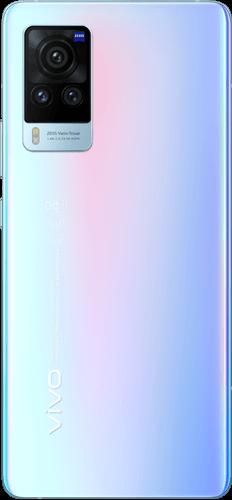 Vivo X60 Pro Frontalansicht shimmer blue big