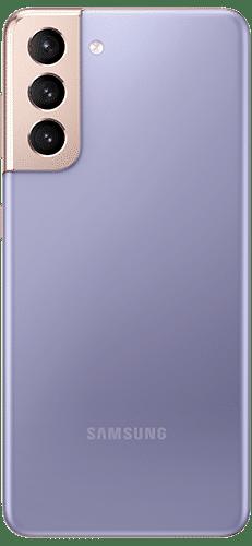 Samsung Galaxy S21 5G Frontalansicht phantom violet big