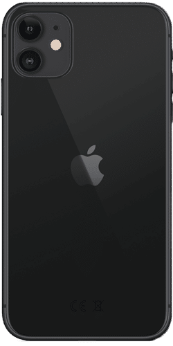 Apple iPhone 11 Frontalansicht schwarz big