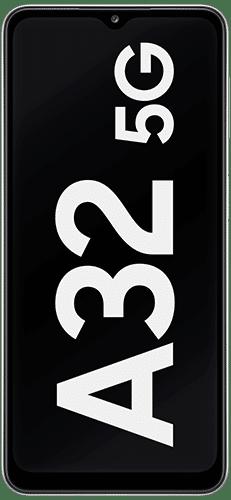 Samsung Galaxy A32 5G Frontalansicht awesome white big