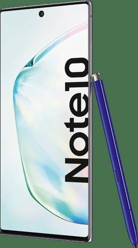 Samsung Galaxy Note10 Frontalansicht aura glow big