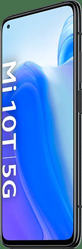 Xiaomi Mi 10T Frontalansicht cosmic black big