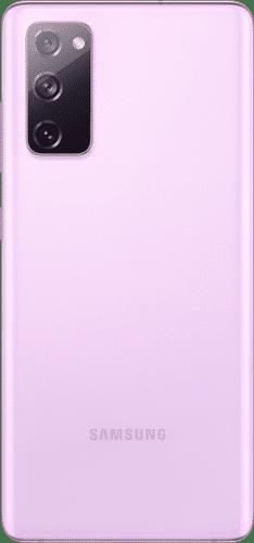 Samsung Galaxy S20 FE Frontalansicht cloud lavender big