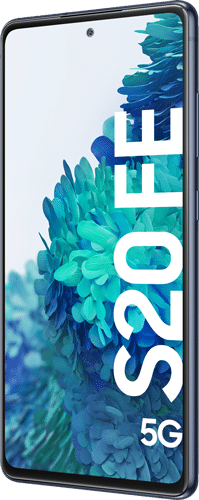 Samsung Galaxy S20 FE 5G Frontalansicht cloud navy big