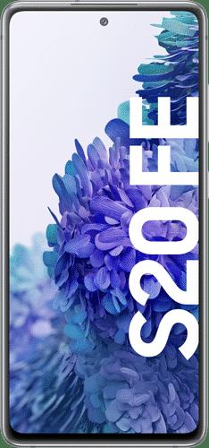 Samsung Galaxy S20 FE Frontalansicht cloud white big