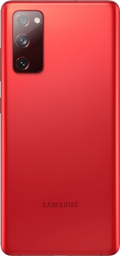 Samsung Galaxy S20 FE 5G Frontalansicht cloud red big