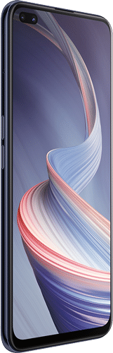 OPPO Reno4 Z 5G Frontalansicht ink black big