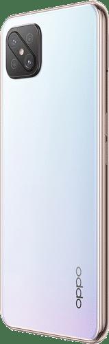 OPPO Reno4 Z 5G Frontalansicht dew white big