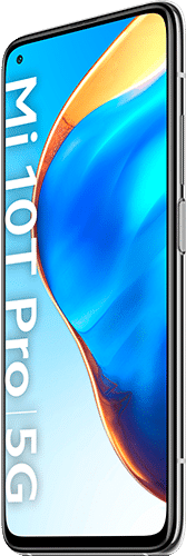 Xiaomi Mi 10T Pro Frontalansicht lunar silver big