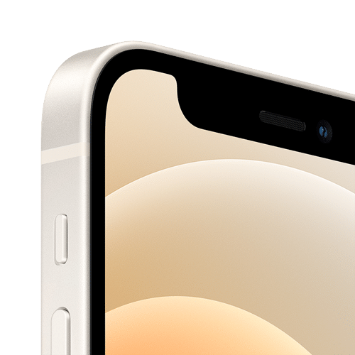 Apple iPhone 12 Mini Frontalansicht weiß big