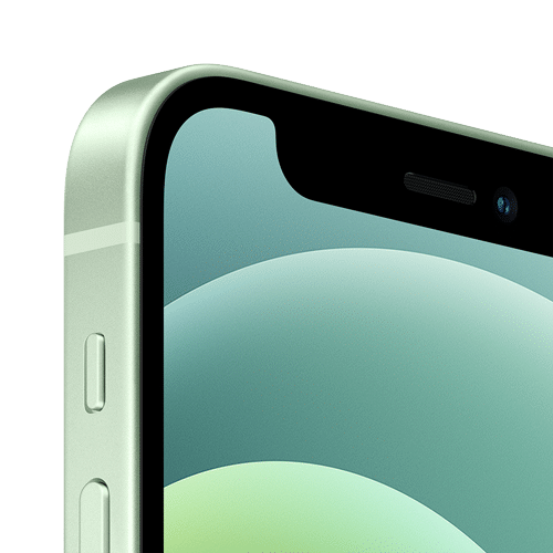 Apple iPhone 12 Mini Frontalansicht grün big