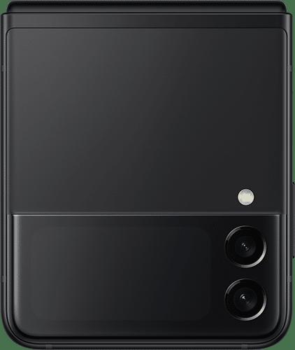 Samsung Galaxy Z Flip 3 5G Frontalansicht phantom black big