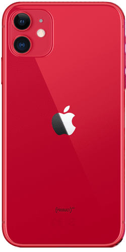 Apple iPhone 11 Frontalansicht (PRODUCT)RED big